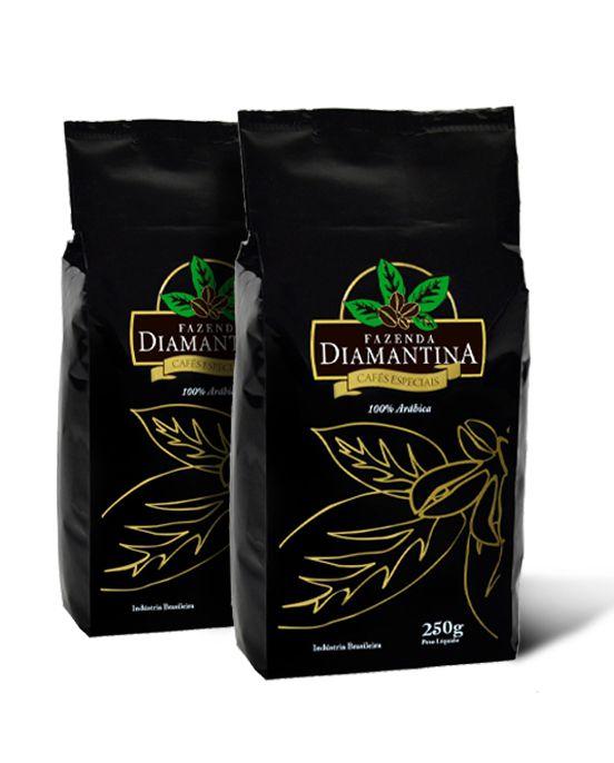 Café Especial em grãos 250g - 2 unidades
