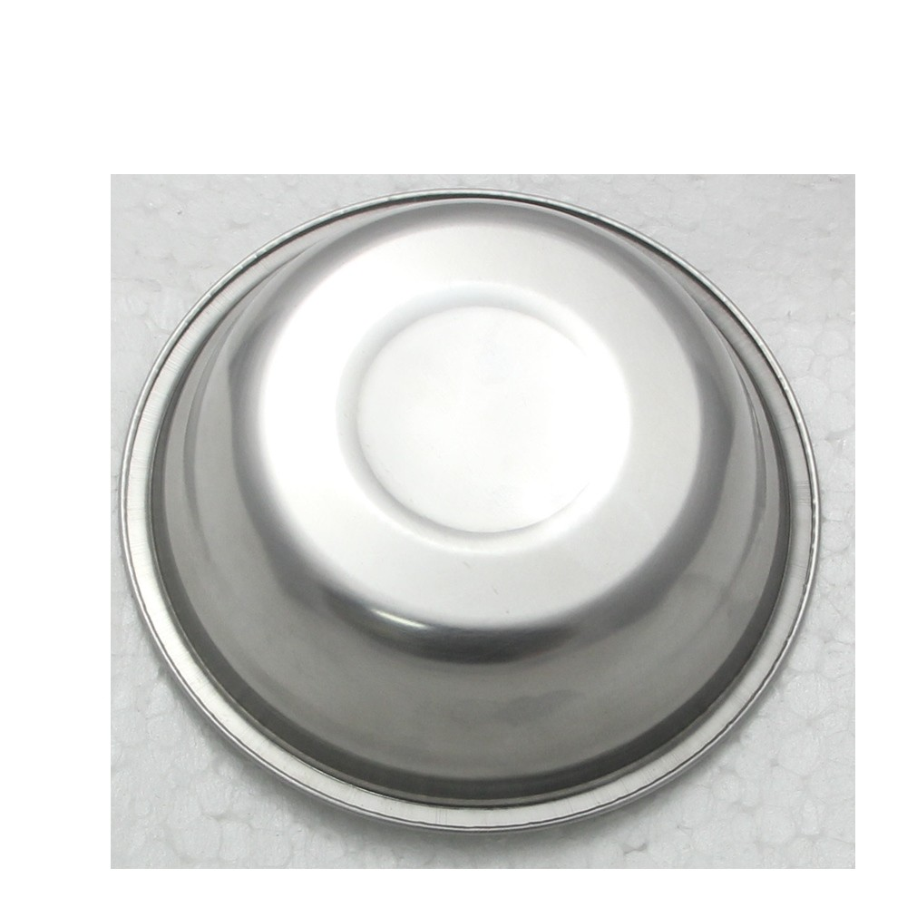 10 Tigela Redonda Cumbuca em aço Inox 19cm Elite ELB0549-10