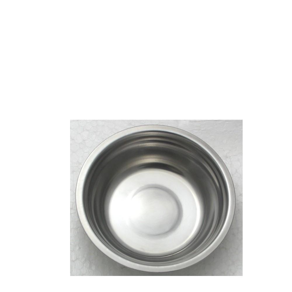 10 Tigelas Redonda Cumbuca em aço Inox 15cm Elite ELB0547-10