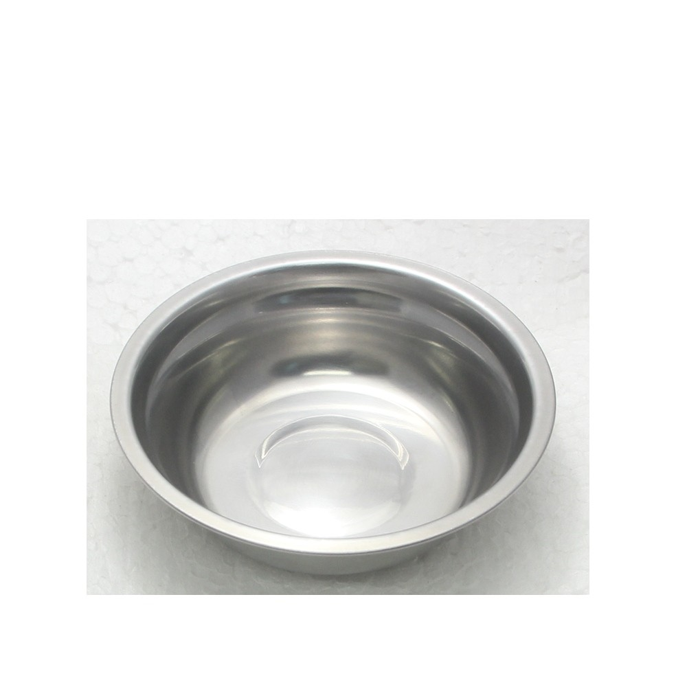 10 Tigelas Redonda Cumbuca em aço Inox 17cm Elite ELB0548-10