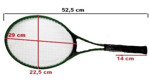 Kit 2 Raquetes De Tenis + Capa E 1 Bola Marca Western 0801