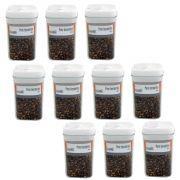 10 Potes hermético em poliestireno 450ml Casita HM015-10