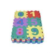 Tapete Infantil Eva 36 Peças Alfabeto E Numero 9x9cm 9302