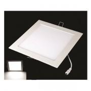 2231 10 Luminaria Embutir Led 3w Plafon Quadrada
