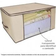 3 Caixa Organizadora Flexível Visor Armário 45x45x20 . 6571