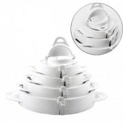 3 Kit Modelador Pastel 5 Formas Risoli Salgados Massas 6601
