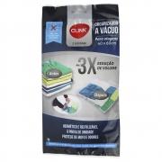 3 Sacos A Vácuo Organizador 40x60 não precisa de bomba CK2479-3
