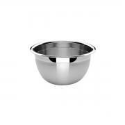 3 Tigelas Bowl Em Aço Inox 16 Cm Pratica e Durável Facilite.ud MX-3021-3