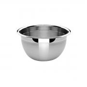 3 Tigelas Bowl Em Aço Inox 20 Cm Pratica e Durável Facilite.ud MX-3023-3