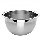 3 Tigelas Bowl Em Aço Inox 28 Cm Pratica e Durável Facilite.ud MX-3027-3