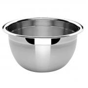 3 Tigelas Bowl Em Aço Inox 30 Cm Pratica e Durável Facilite.ud MX-3028-3