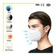 5 Máscara Respirador N95 Pff2 En. Imediato Multilaser Hc-402-5