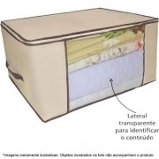 6570 2 Caixa Organizadora Flexível Visor Armário Close 60x45 6570