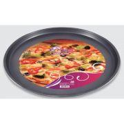 6 Formas Pizza Antiaderente Assadeira 36cm em aço carbono 11497-6