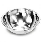 6 Saladeiras Bacia tigela em aço Inox 20cm Ke Home 3620KH-6
