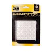 Gota De Silicone são 5 Cartela Com 25 gotas, Adesivo Multiusos 6903