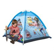 Barraca Esconderijo Pirata infantil tenda toca leitura DM Toys DMT5655