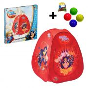 Barraca Portatil Dcs Hero Girls Toca Infantil + 50 Bolinha