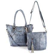 Bolsa Feminina kit com 2 Alça  Transversal e De Mão L-918