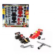 Carros Montagem Fórmula 1 Scuderia Team 30 Peças Paki Toys