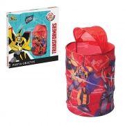 Cesto Organizadora Transformers Vermalha Infantil brinquedo