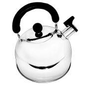Chaleira Inox 3 litros tampa de segurança cabo anatômico anti-calor Ke Home 3555KH