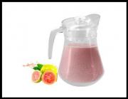 Jarra de Vidro 1,3 Litros C/ tampa Suco Água Vinho Futuro Casa FUY78