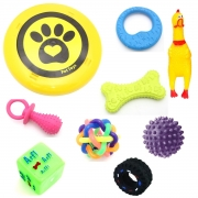Kit 9 Mordedor Brinquedos De Borracha P/ Cães Cachorro - Pet