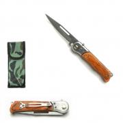 Mini Canivete Esportivo Automático Caça Pesca Etc. Modelo SL0051