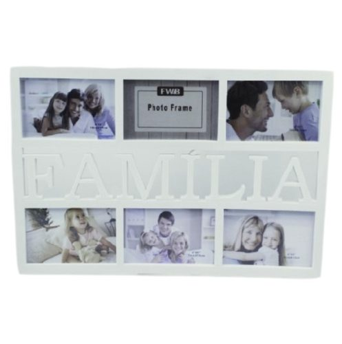 Porta Retrato De Parede Familia Painel 6 Fotos 10x15 - 7203
