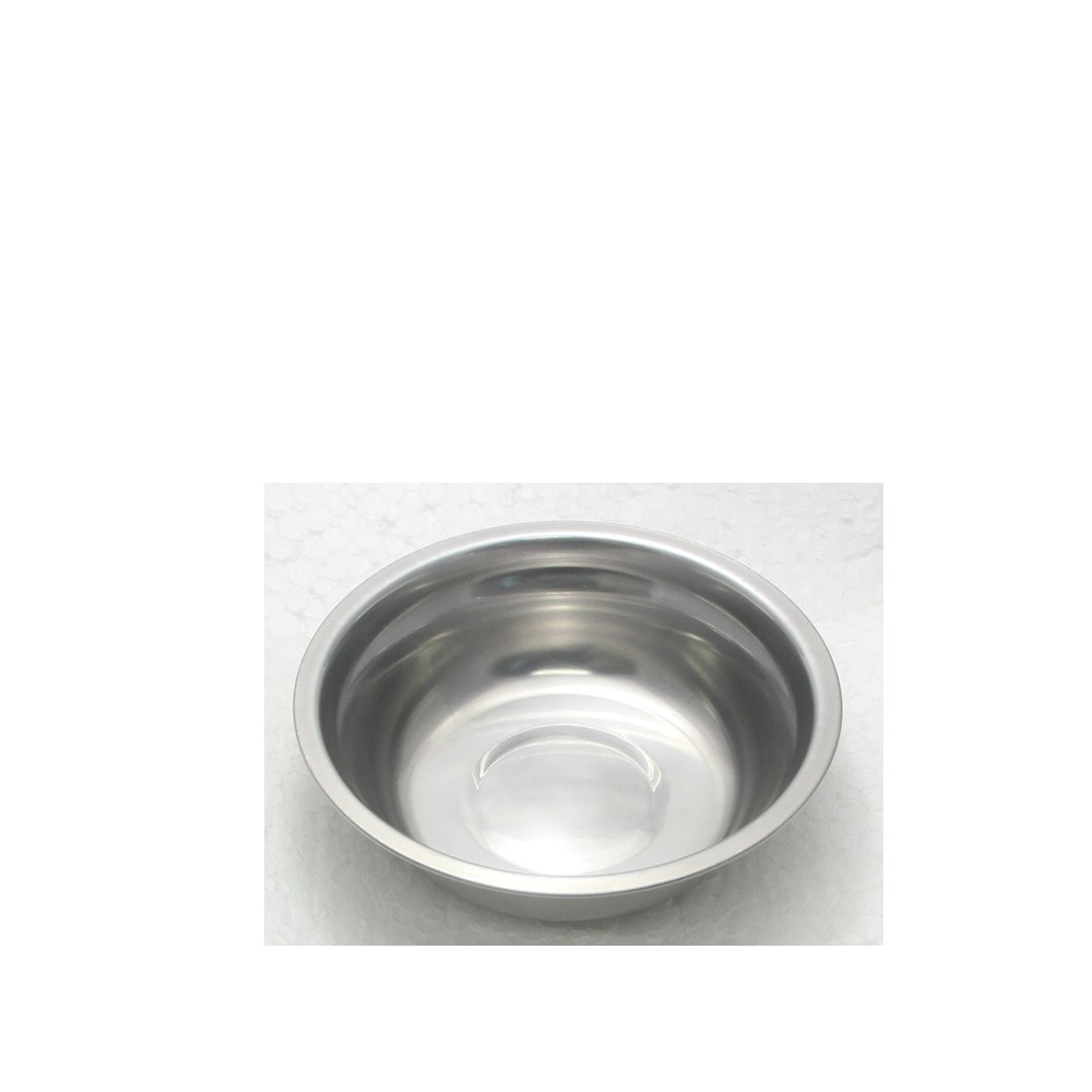 20 Tigelas Redonda Cumbuca em aço Inox 13cm Elite ELB0546-20
