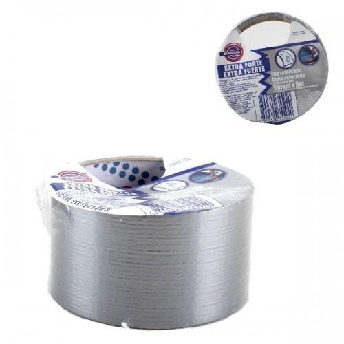 Rolo De Fita Silver Tape Adesiva Multiuso Reforcada 4340