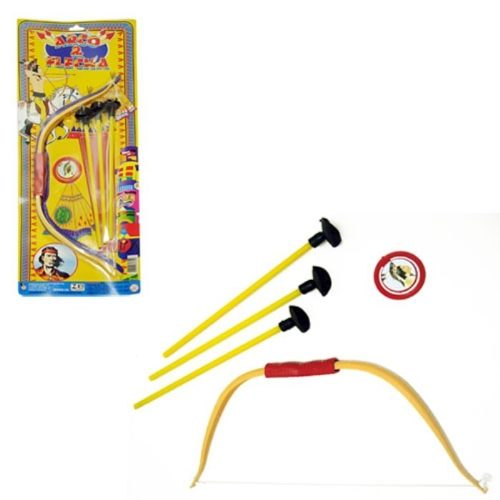 Brinquedo Arco E Flecha Infantil 4 Peças  9085