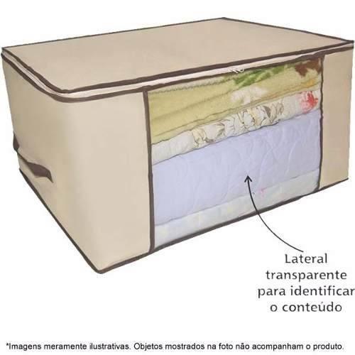 6572 1 Caixa Organizadora Flexível Visor Armário 45x30x20 6572