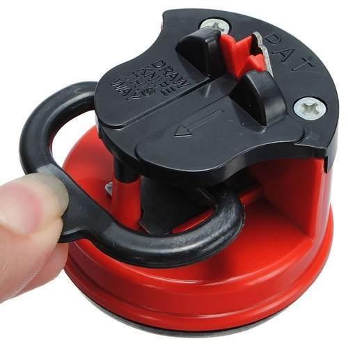 Afiador Amolador Facas Tesoura Canivete Facão C Ventosa 7720