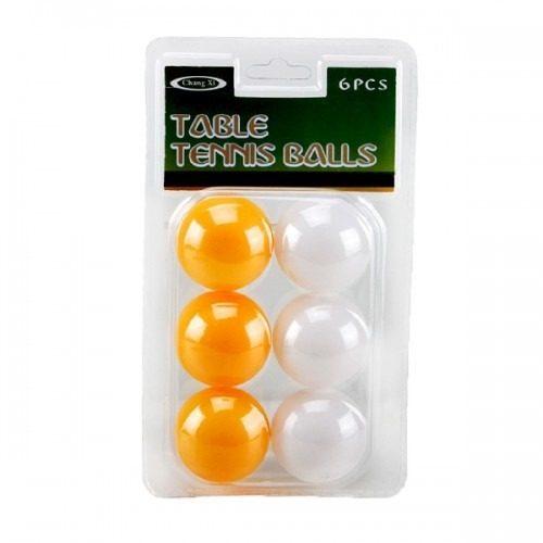 Kit Bolas De Ping Pong Tênis De Mesa Com 6 Unidades 0881