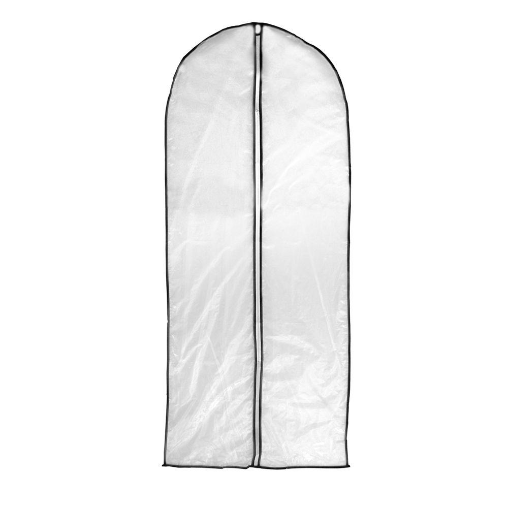 24 Capas de Plástico para Roupa proteção transporte cabide 60 x 137 Cm Ke Home 5554KH