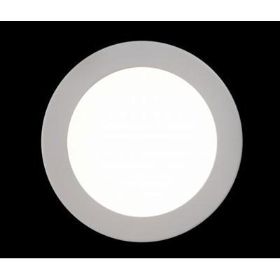 luminaria 3w redonda misto