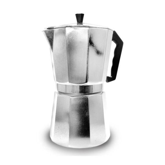 2 Cafeteiras Italiana Em Alumínio 6 Xicaras Ke Home Kh3001-6-2