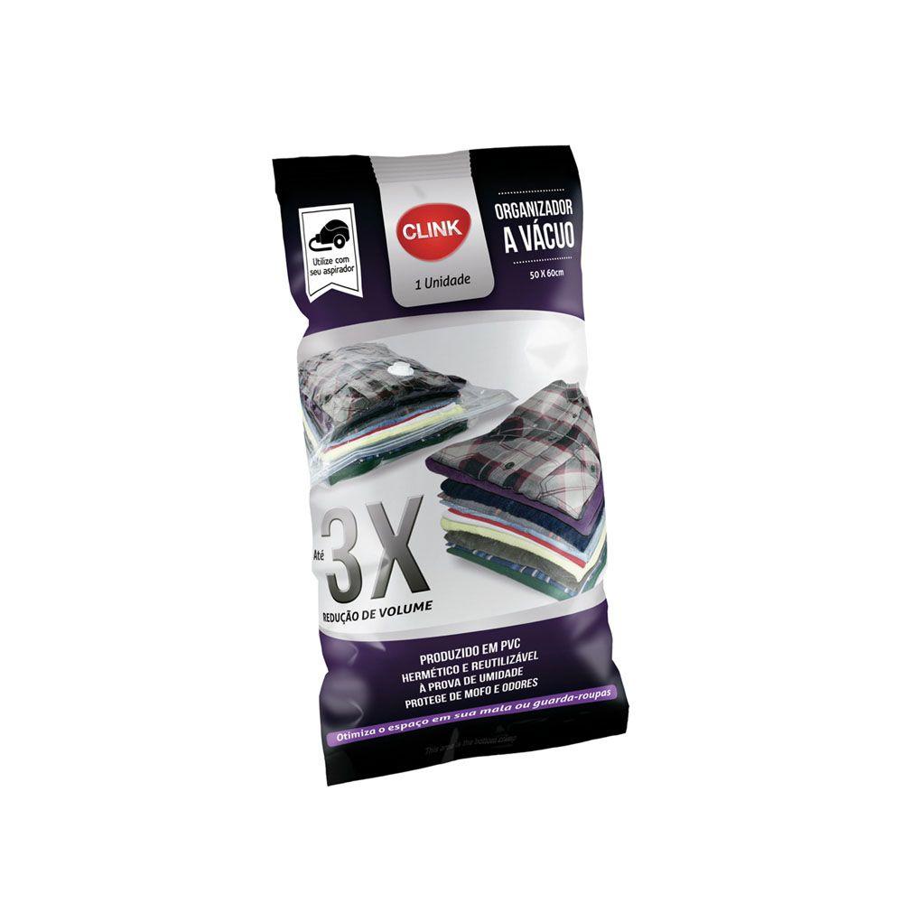 2 Sacos A Vácuo Organizador Pequeno 50x60 CK2633-2