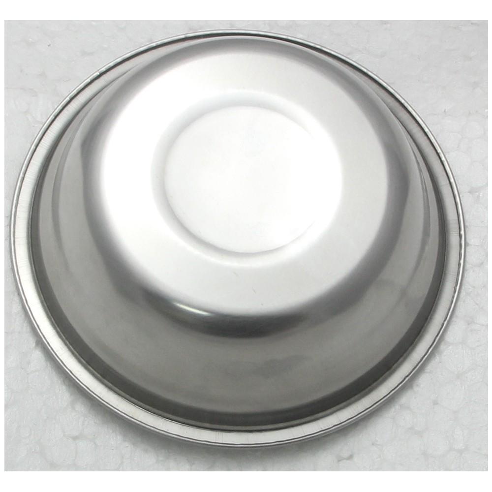 2 Tigela Redonda Bacia em aço Inox 25cm Elite ELB0552-2