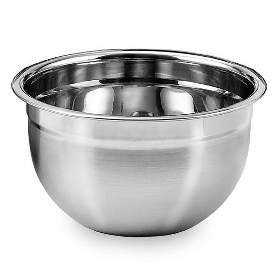 2 Tigelas Mixing Bowl em aço Inox 30 Cm  Ke Home 3116-30-2