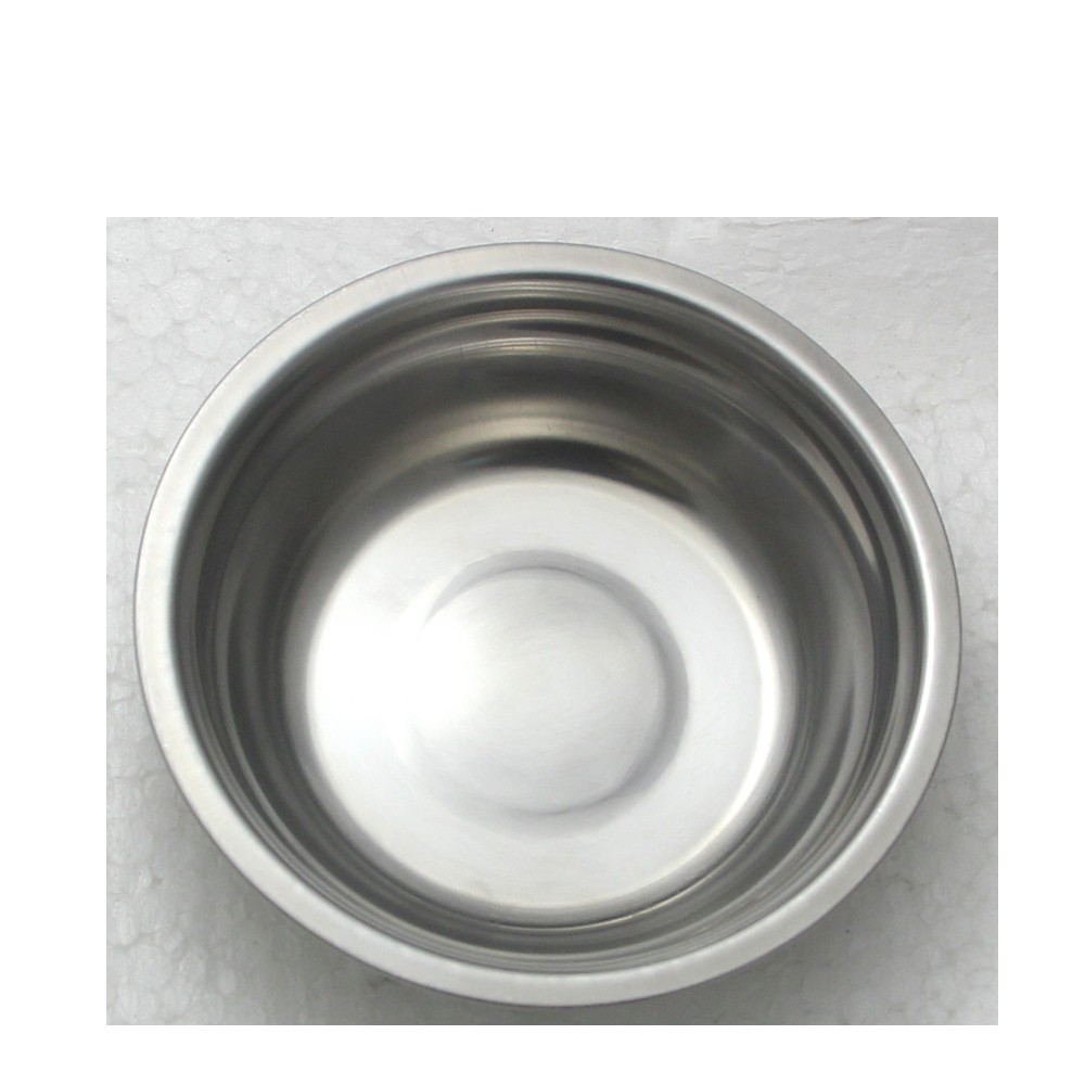 2 Tigelas Redonda Bacia em aço Inox 21cm Elite ELB0550-2