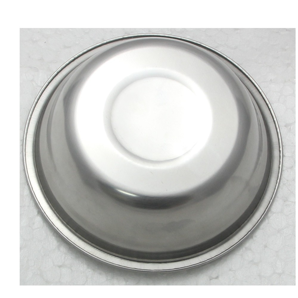 2 Tigelas Redonda Bacia em aço Inox 23cm Elite ELB0551-2