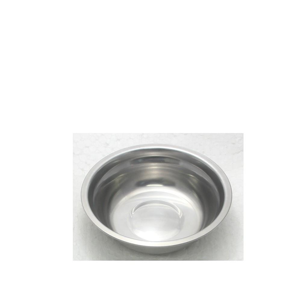 30 Tigelas Redonda Cumbuca em aço Inox 13cm Elite ELB0546-30