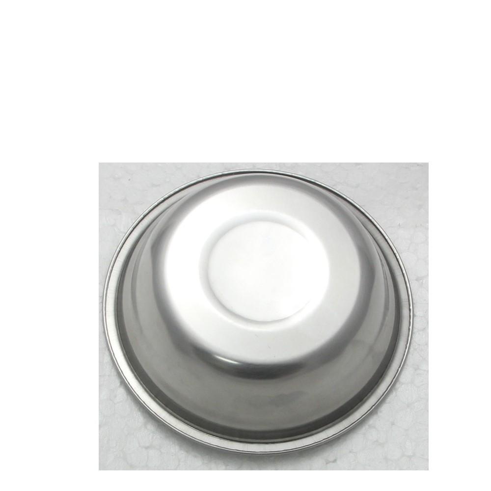 30 Tigelas Redonda Cumbuca em aço Inox 15cm Elite ELB0547-30