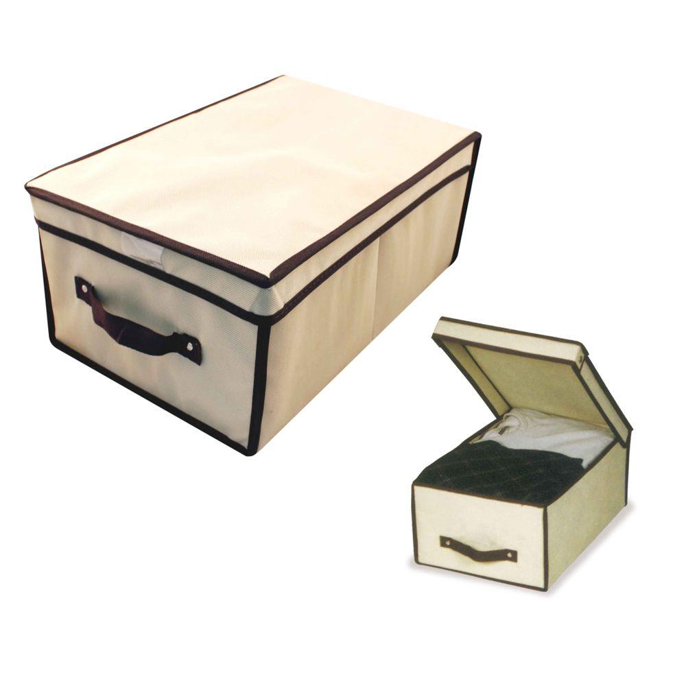 3 Caixa Organizadora Rígida Armário Close 45x30x20 6575