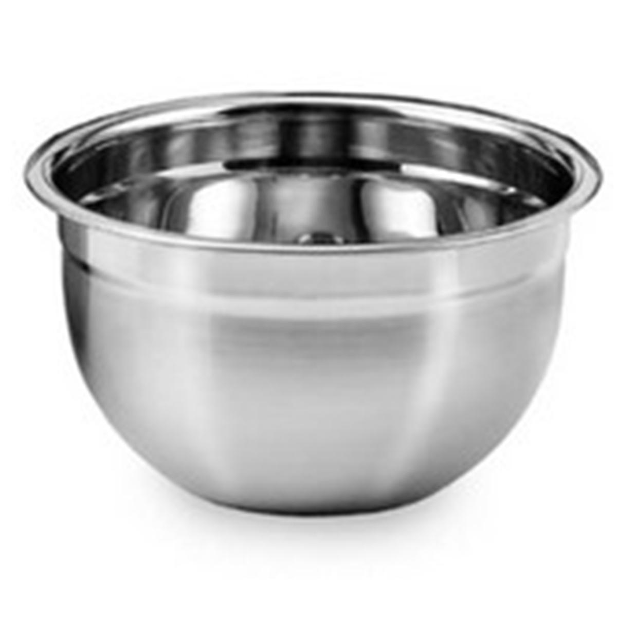 3 Tigela Mixing Bowl em aço Inox 14 Cm  Ke Home 3116-14-3