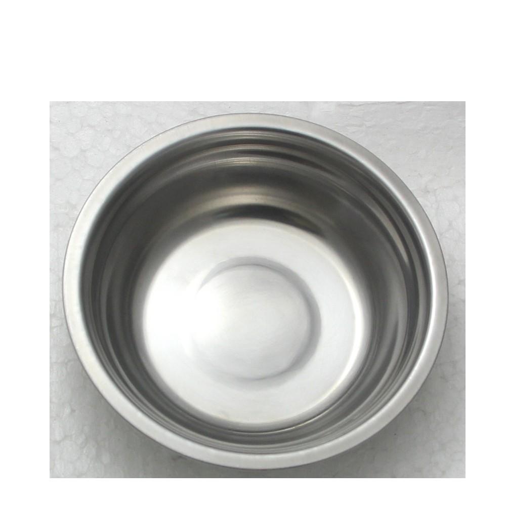 3 Tigelas Redonda Bacia em aço Inox 21cm Elite ELB0550-3