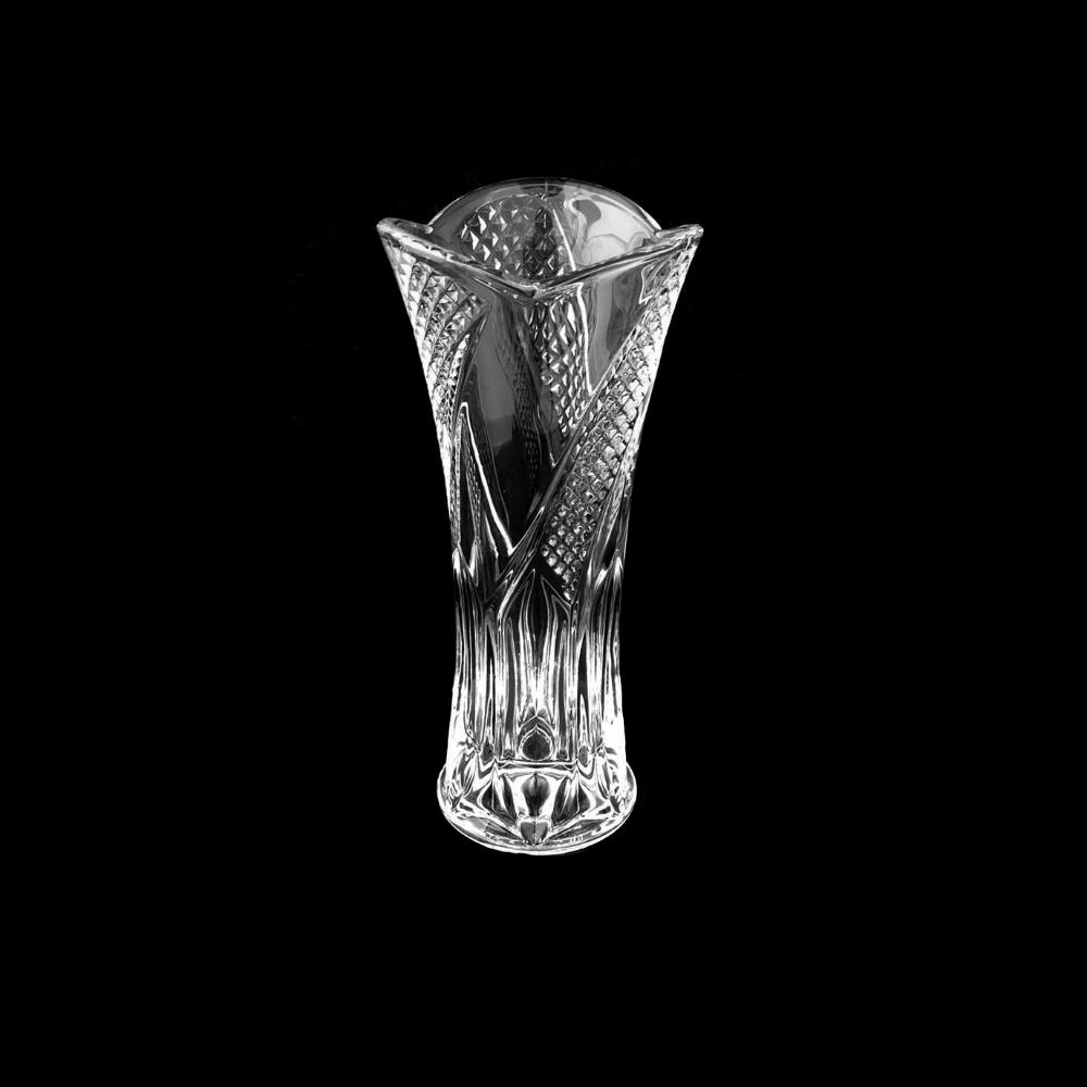 3 Vasos Decorativo Vidro pequeno altura 17cm 240ml Unik Home UH080094-3